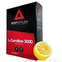 Bodyathlon - L-Carnitine 3000 Lemon Flavour 20 Vials x 10 ml
