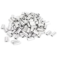 1.2mm Cuerda De Alambre Aluminio Fundas Auricular (ear Clip) Accesorios Cable Corrugar 100pcs