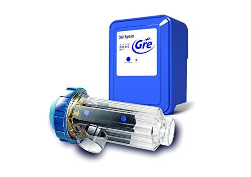 Gre SCG100 - Chlorateur au sel pour Piscines jusqu'à 90 m3, 21 grammes / heure