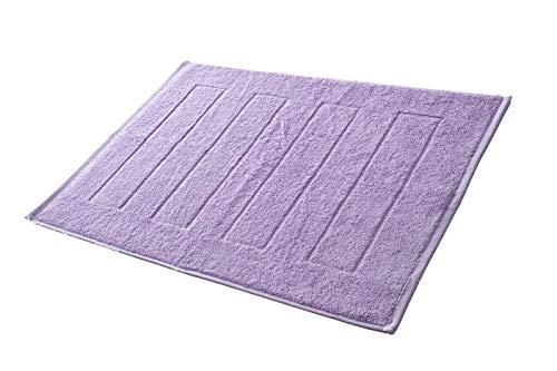 Hometex Premium Textiles Badvorleger Duschvorleger 50 x 70 cm | 100% Baumwolle - ÖKOTEX 100 -...