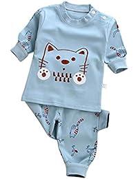 Baby Girl Girl Pyjamas Set Cotton Cartoon Sleeuit 2 Piezas Ropa Nigtwear para Niño Niña