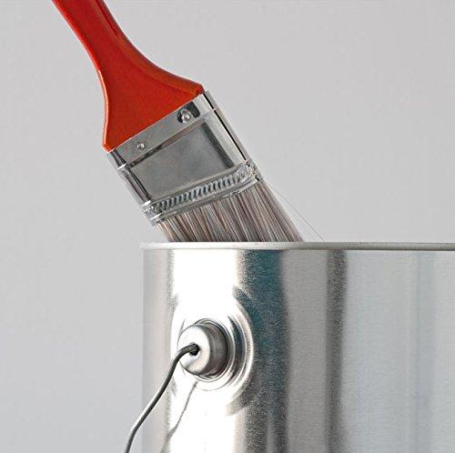 1L Nikotinfarbe Weiss gegen Nikotin-, Ruß- und Wasserflecken - BEKATEQ Isolierfarbe Wandfarbe Sperrgrund Nikotinsperre