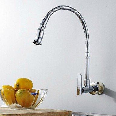 Type de mur en rotation arbitraire en laiton chromé robinet d
