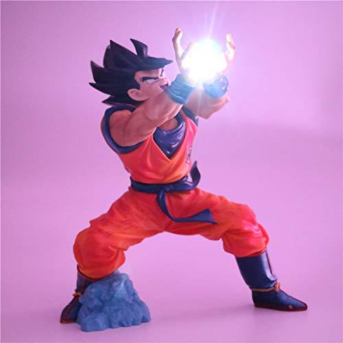 Dragon Ball Z Acción Figura Noche Luz Super Saiyano Goku Pvc Dibujos Animados Modelo Juguetes Regalo Lámparas Anime Dragonball Z Juguetes Figuras Dbz