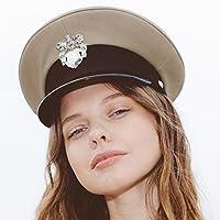 RACEU ATELIER Gorra de Capitán Morgan - Gorra marinera - 100% de puro  algodón - 000980cb72c