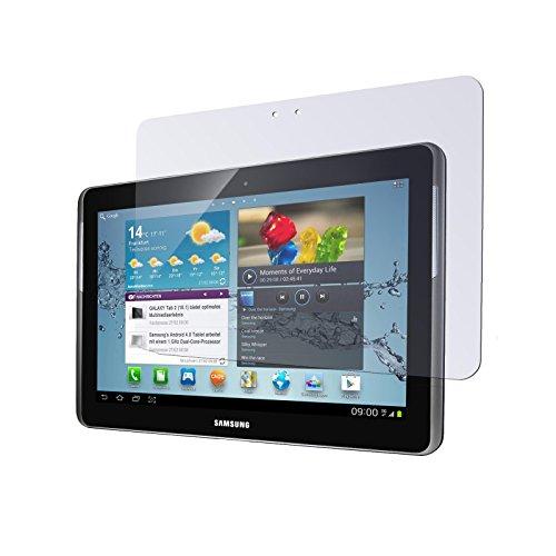 2 x Displayschutzfolie klar für Samsung Galaxy Tab 2 10.1 von PhoneNatic