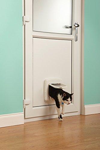 PetSafe Staywell Luxus-Katzenklappe Infrarot Weiß -