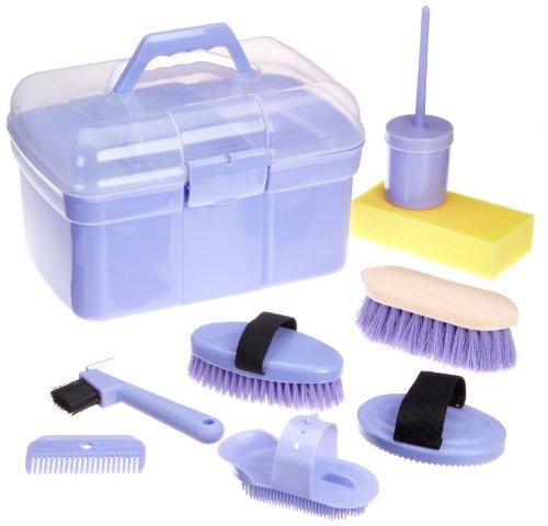 Kerbl Caja de limpieza llena, infantil, lila