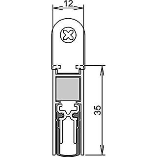 Athmer Türdichtung DOPPELDICHT M-12/35 1083mm 2-seitig m. Zubehör (5220)