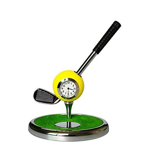 Bequem Halter Für Büro Desktop Dekoration (NO. 7 Eisen) Metall Kugelschreiber Kreative Golf Club Stift Golf Set Geschenk multifunktions Stift dauerhaft (Farbe : C6, Größe : No. 7 Irons)