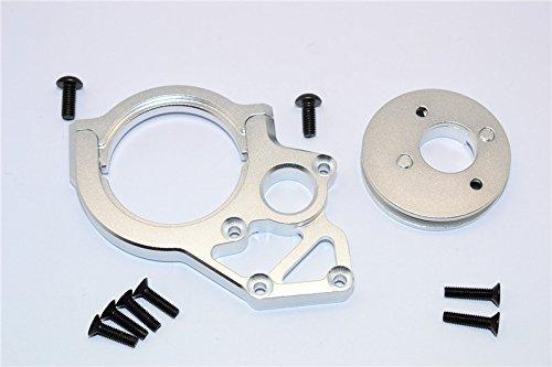 Axial Yeti, Yeti SCORE & RR10 Bomber Tuning Teile Aluminium Transmission Motor Mount - 3Pcs Set Silver -