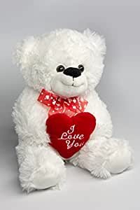 "My Home Plüsch-Teddy ""I Love you"" ca. 36 cm"