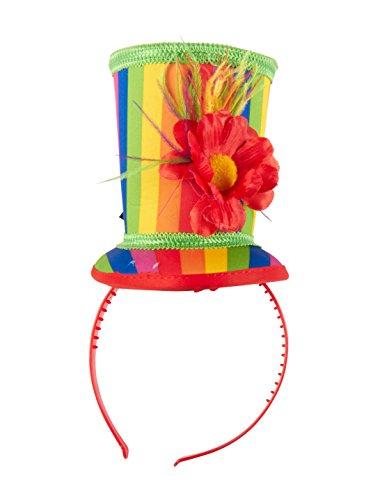 Haarreif mit kleinem Hut Regenbogen keine (Regenbogen Hüte)