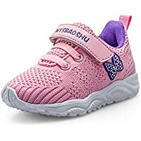 Zapatillas para niñas Zapatillas de Deporte para niños Niños Zapatillas de Correr Entrenadores para niños Zapatillas de Deporte para Correr Zapatos para Caminar al Aire Libre niños 21-29