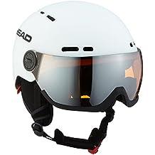 Head Casco de esquí con Visera Knight, Otoño-Invierno, Caballero, Unisex,