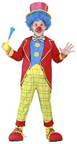 Imagen de disfraz de payaso para niños de 4 6 años