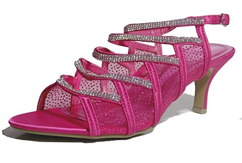 Krasceva - Zapatos con tacón mujer , color multicolor, talla 35.5