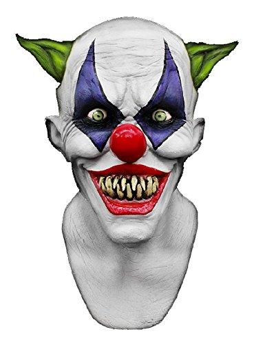 us Latex zum Horrorclown Kostüm Halloween (Freaky Clown Kostüme)