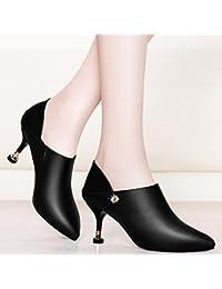 KPHY-Le Nouveau Printemps Et Été Bien Les Sandales Les Talons De Femelles Bouche Pente Avec Des Semelles Épaisses La Mode Des Chaussures De Rivets. Quarante Golden