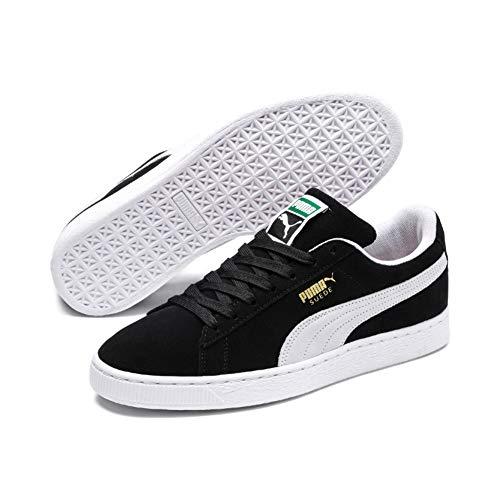 Puma Unisex-Erwachsene Suede-Classic+ Sneakers, Schwarz (black-beige), 42 EU
