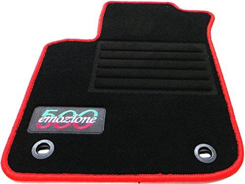 TN-Classic Fussmatten Autofußmatten Autoteppiche Passform VFI0003079LrovA - 500 Autoteppich, Fußmatte Fiat