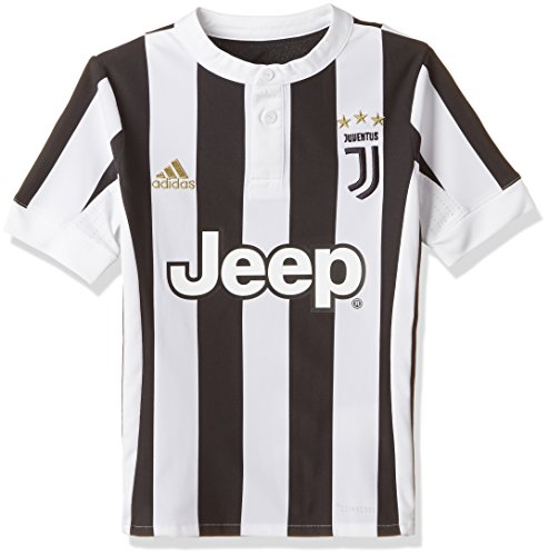 adidas Kinder Juve H JSY Y Trikot, White/Black, 128