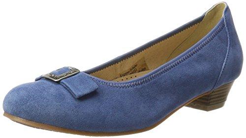 Andrea Conti Hirschkogel by Damen 3004550 Pumps, Blau (Jeans), 38 EU