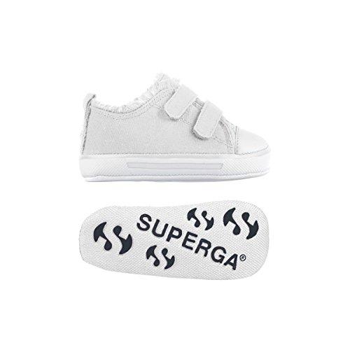 Superga S002A80 4090-COVBI, Unisex - Kinder Hausschuhe White