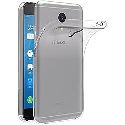iVoler Coque pour Meizu M3 Note, [Ultra Transparente Silicone en Gel TPU Souple] Housse Etui Coque de Protection avec Absorption de Choc et Anti-Scratch