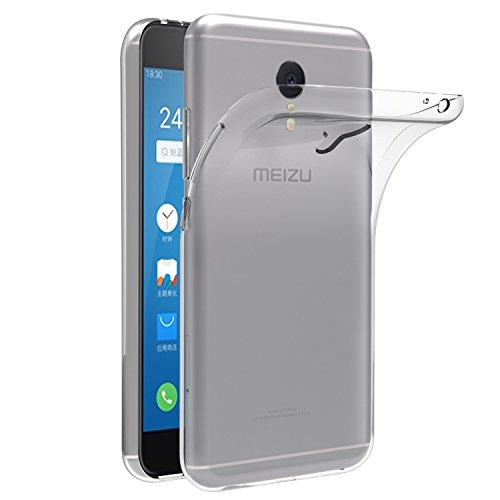 iVoler Hülle für Meizu M3 Note, Premium Transparent Tasche Schutzhülle Weiche TPU Silikon Gel Schutzhülle Case Cover für Meizu M3 Note