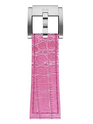 TW Steel Marc Coblen Armband Uhrenband Leder 22 MM Kroko pink LB_P_K_S