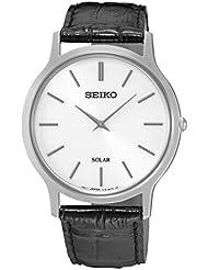 Seiko Damen-Armbanduhr Analog Quarz Leder SUP873P1