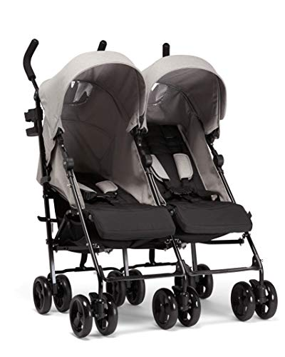 Mamas & Papas Cruise Twin Buggy, Grey Marl Best Price and Cheapest