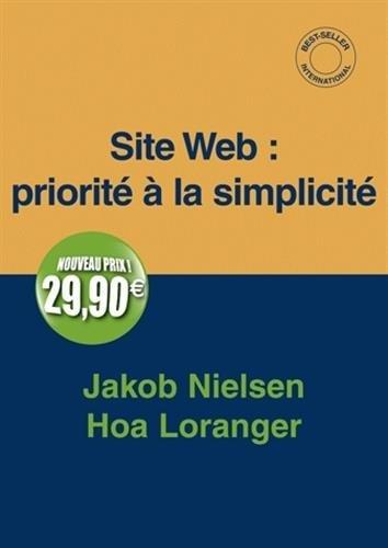 Site Web : priorité à la simplicité