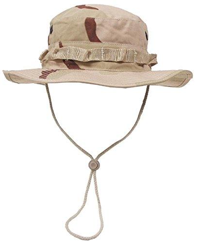 US GI Buschhut Boonie Hat 3 Farben-Desert S-XL XL(61)
