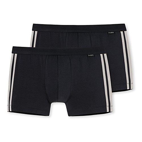 Schiesser Herren Unterhose, 2er Pack - Grün (Khaki 701) , Medium (Herstellergröße 005) - Boardshorts Khaki