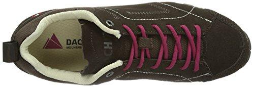 Dachstein Skywalk LC Wmn, Scarpe da trekking medio donna Marrone (Braun (Braun/Purple 1398))
