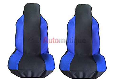 Volvo XC90 OCEAN RACE (02-) PREMIUM RACING FRONT PANEL SEAT COVERS BLUE
