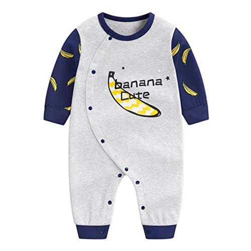 Alte Kostüm Jungen Ein Jahr - Gyratedream Herbst Baby Boy Girl Body Langarm Cartoon Banana Neugeborenen Baumwolle Strampler Overall Kostüme für 0-3 Jahre Alten Jungen