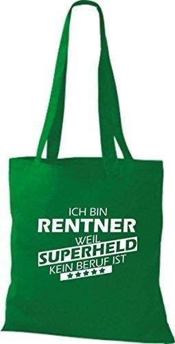 Tote Bag Shirtstown Sono In Pensione Perché Il Supereroe Non È Una Professione Kelly