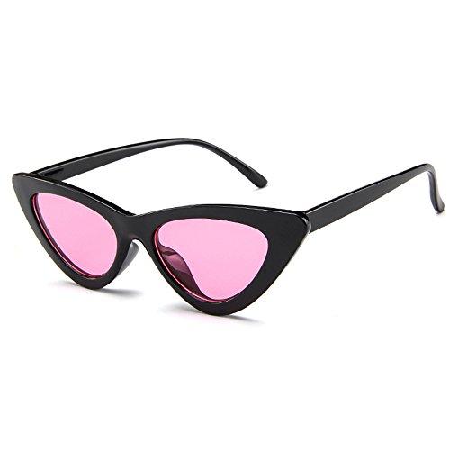 BLDEN Mujer Gfas De Sol Gafas Gato Ojos Polarized,Retro Moda Estilo Vintage Gafas Para Mujer GL1002-B-P