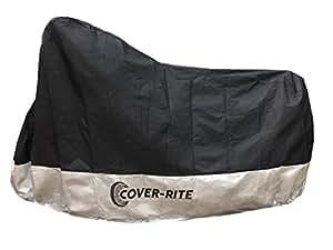 Cover-rite extra-große Motorradplane – ideal, um Ihr Motorrad vor Staub, Schmutz, Schnee, Regen und Sonnenstrahlen zu schützen. Abdeckplane passt für Motorräder verschiedenster Größen.