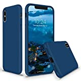 SURPHY Coque iPhone XS Coques iPhone X, Coque Ultra Fine Anti-Rayures Silicone...