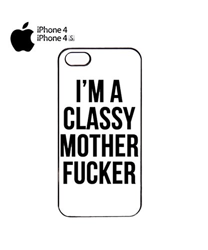 I'm a Classy Mother F*cker Mobile Phone Case Cover iPhone 6 Plus + White Noir
