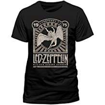 I-D-C LED Zeppelin-Madison Sq Garden, Camiseta para Hombre