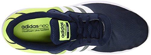 adidas Herren Cloudfoam Speed Turnschuhe, Weiß / Gelb (Maruni / Ftwbla / Amasol), Einheitsgröße Weiß / Gelb (Maruni / Ftwbla / Amasol)