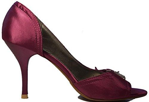 Talons hauts, Stiletto Pumps High Heels sandales, très sexy, bleu, violet, blanc, rose, violet, pourpre, beige, pink, chaussures femme, modèle 11064102002392, escarpins. Violet