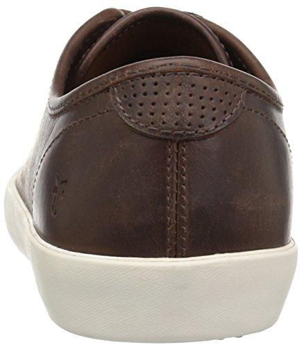FRYE Mens Brett Low Fashion Sneaker Braun