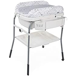 Chicco Combi Bain Baignoire Change Cuddle/Bubble Cool Grey - Table à Langer