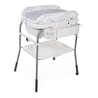 Chicco Cuddle&Bubble - Bañera cambiador compacta 2en1, 10 kg, color gris (Cool Grey) (B07GRHJR7S) | Amazon Products